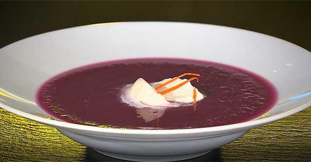 Rotkabis-Suppe