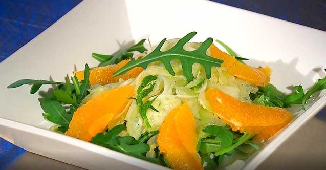 Fenchel-Salat mit Orangen