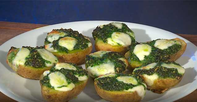 Kartoffeln mit Bärlauch-Pesto